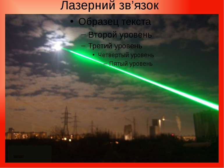 Лазерний зв'язок