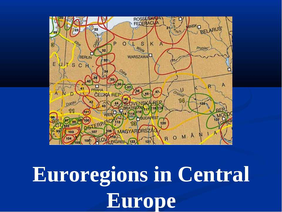 Euroregions in Central Europe