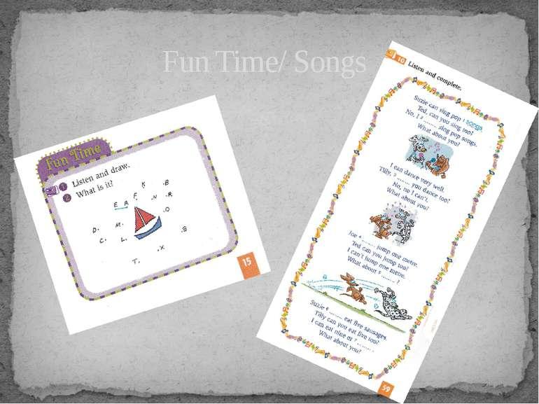 Fun Time/ Songs