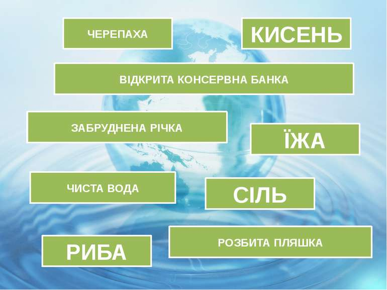 ЧЕРЕПАХА ЗАБРУДНЕНА РІЧКА РИБА РОЗБИТА ПЛЯШКА ВІДКРИТА КОНСЕРВНА БАНКА ЧИСТА ...