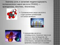 Важливу роль в організмі людини відіграють поліненасичені жирні кислоти (ПНЖК...
