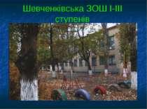 Шевченківська ЗОШ І-ІІІ ступенів