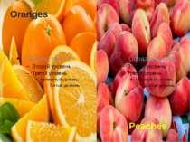 Oranges Peaches