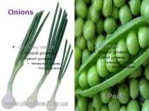 Onions Peas