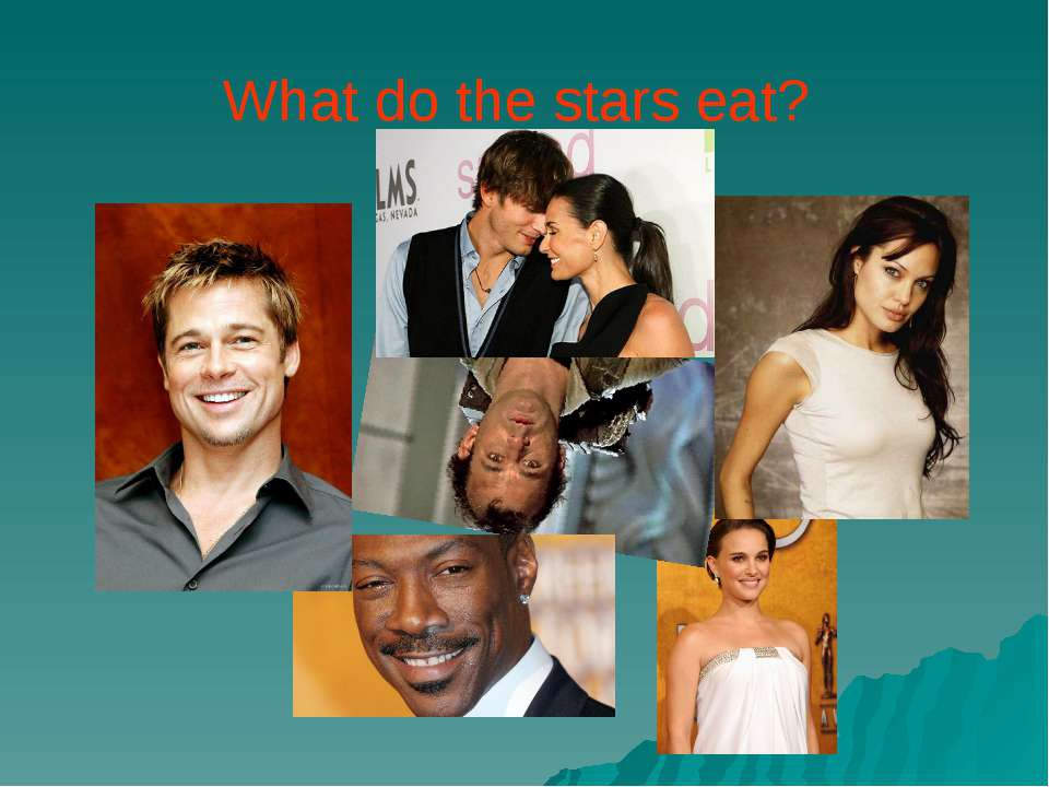 What do the stars eat?