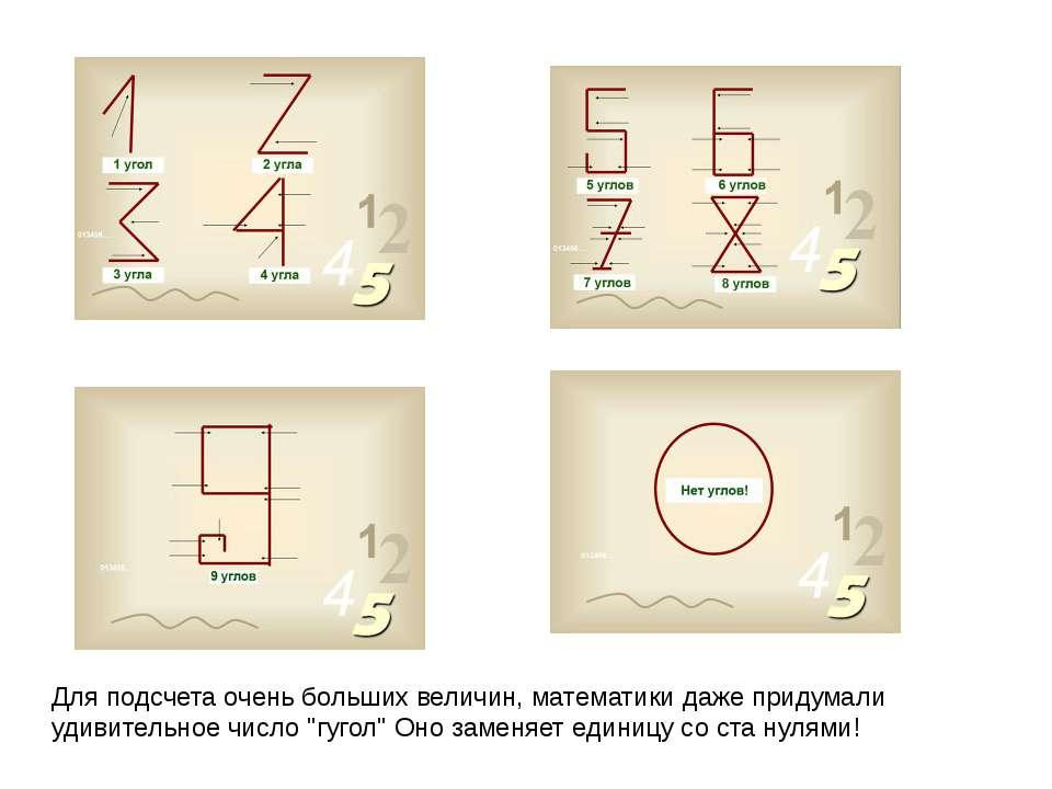 Для подсчета очень больших величин, математики даже придумали удивительное чи...