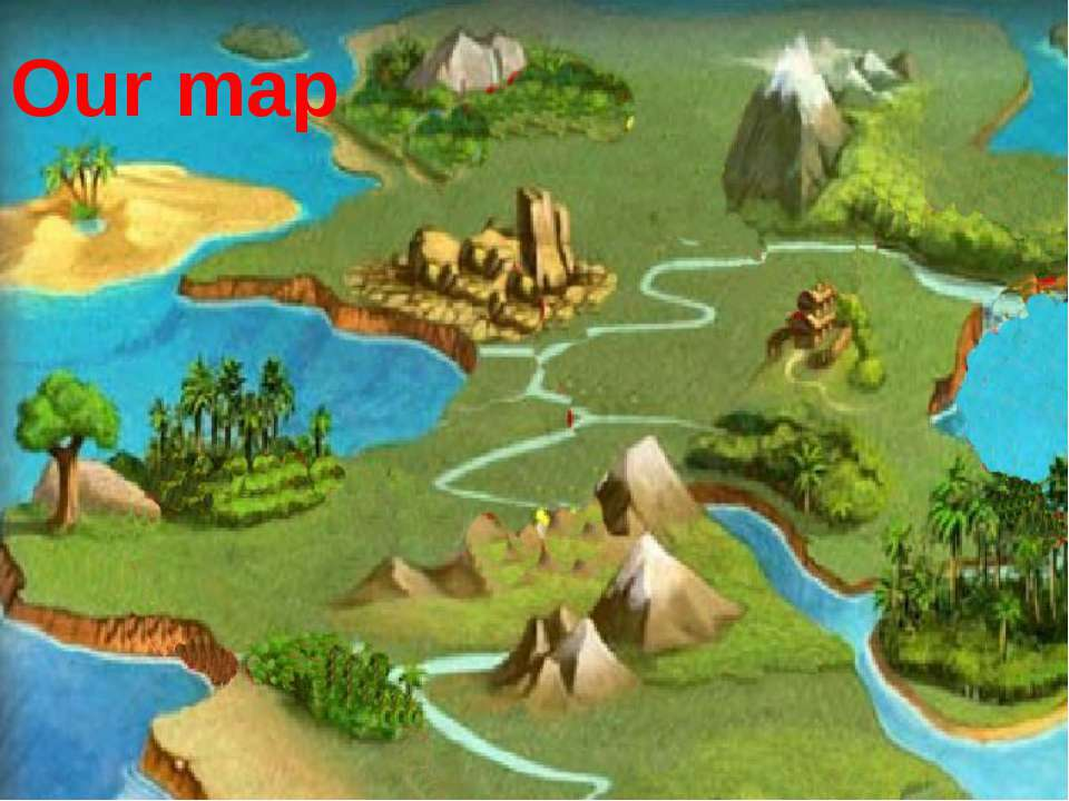 Our map