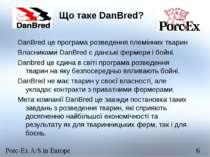 Що таке DanBred? DanBred це програма розведення племінних тварин Власниками D...