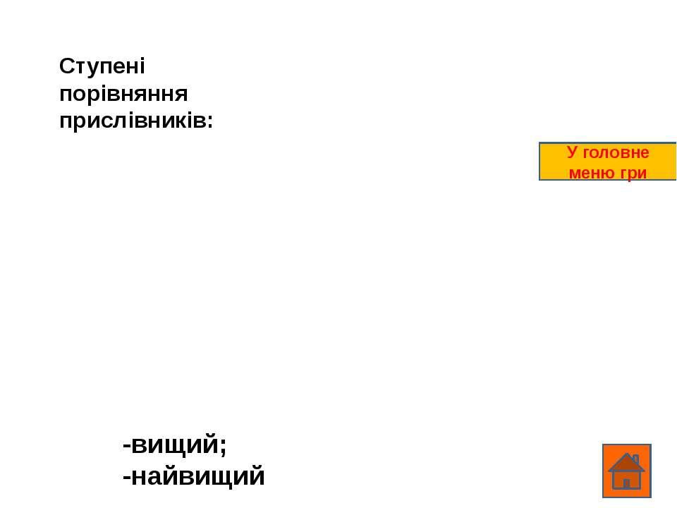 ВОПРОС2 ОТВЕТ Ответ появляется при щелчке по вопросу В главное меню игры
