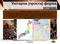 Унітарна (проста) форма устрою Перечинський професійний ліцей Попович М.І. Ро...