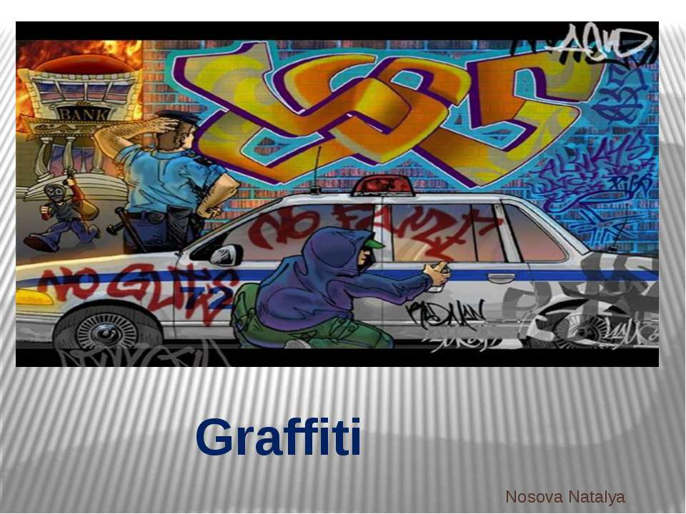 Graffiti Nosova Natalya