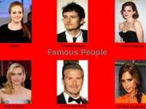 Adele Emma Watson Orlando Bloom Kate Winslet Victoria Beckham David Beckham F...