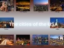 Atlanta Boston Philadelphia Chicago Dallas Houston Los Angeles New York Miami...