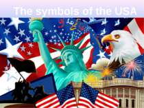 The symbols of the USA