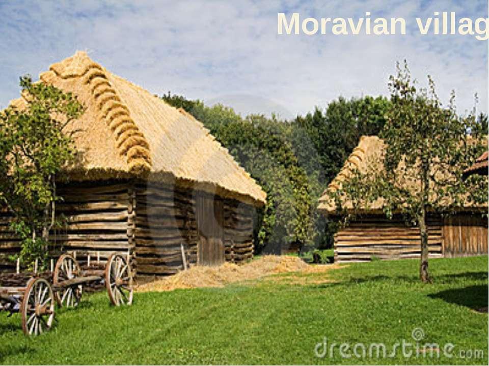 Moravian village