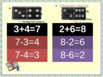 http://aida.ucoz.ru 3+4=7 7-3=4 7-4=3 2+6=8 8-2=6 8-6=2