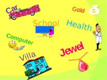 Car Gold Computer Jewel Health Villa School