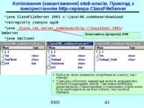 Копіювання (завантаження) stub-класів. Приклад з використанням http-сервера C...