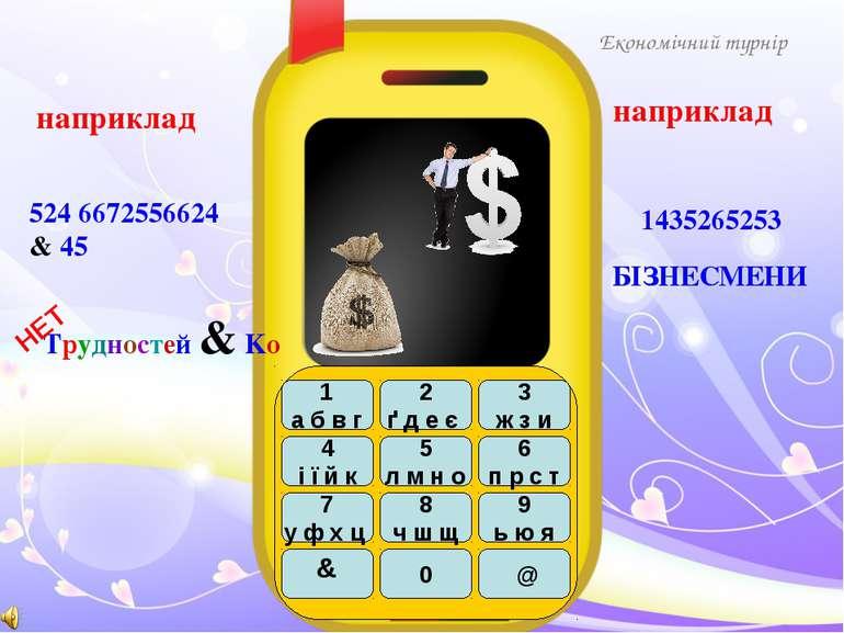 БІЗНЕСМЕНИ Економічний турнір 1435265253 наприклад наприклад 524 6672556624 & 45