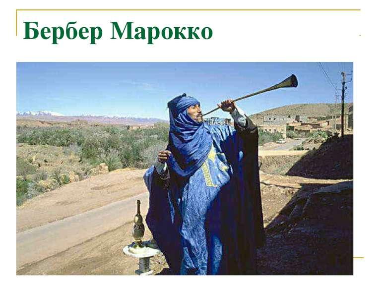 Бербер Марокко