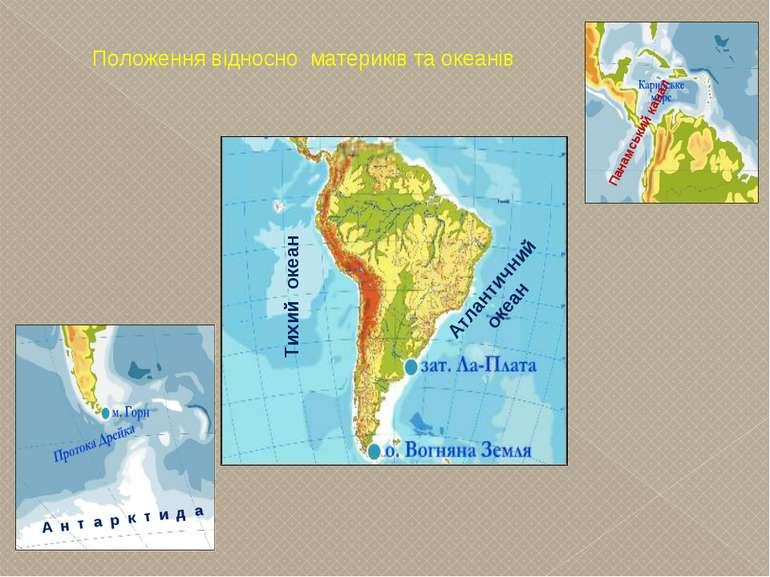 А н т а р к т и д а Панамський канал Атлантичний океан Тихий океан Положення ...