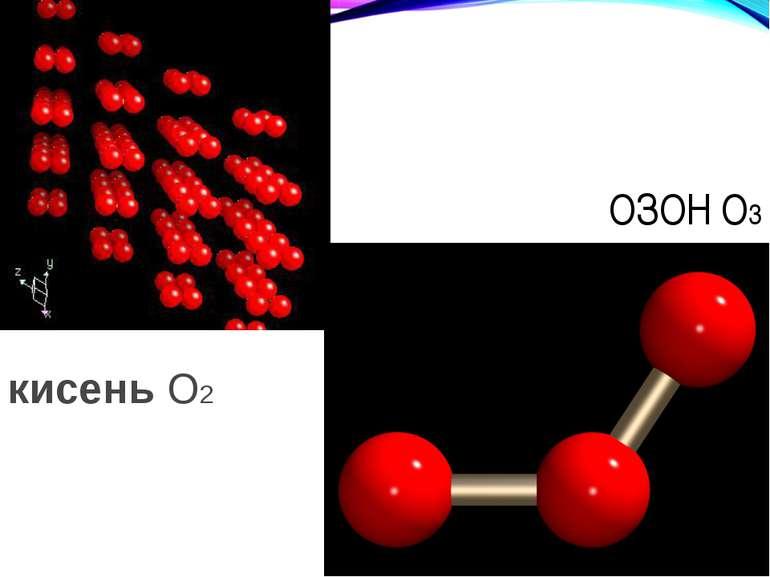 ОЗОН O3 кисень O2