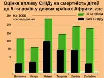 Оцінка впливу СНІДу на смертність дітей до 5-ти років у деяких країнах Африки...