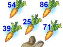 Хто швидше нагодує зайчика? Завдання: слід нагодувати зайчика морквою. Для ць...