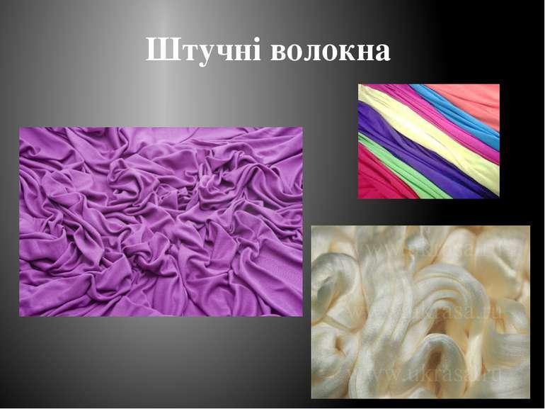 Штучні волокна