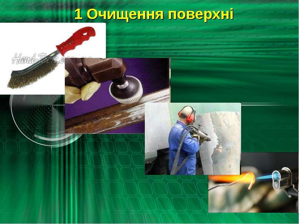 1 Очищення поверхні