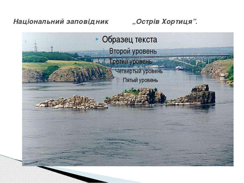 """Національний заповідник """"Острів Хортиця""""."""