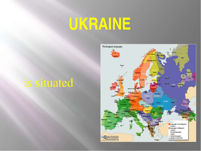 UKRAINE is situated