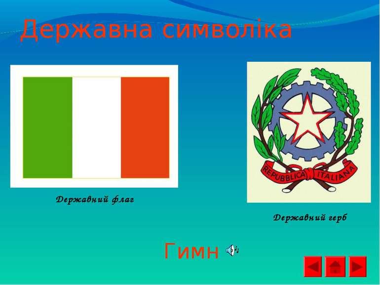 Державна символіка Державний флаг Державний герб Гимн