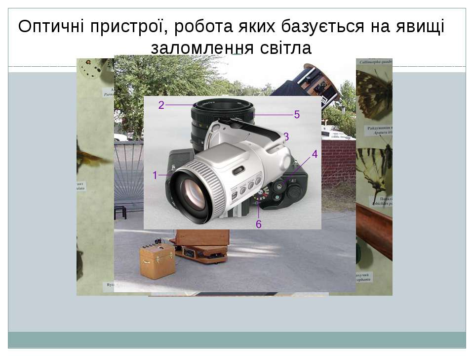 Де використовуються лінзи? Оптичні пристрої, робота яких базується на явищі з...