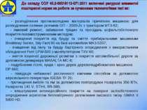 * - розподілення протиожеледних матеріалів причіпною машиною для розподілення...