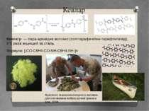 Кевлар Кевла р— пара-арамідне волокно(поліпарафенілен-терефталамід). У 5 р...