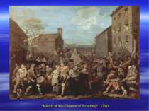 """March of the Guards of Frinchley"" 1750"