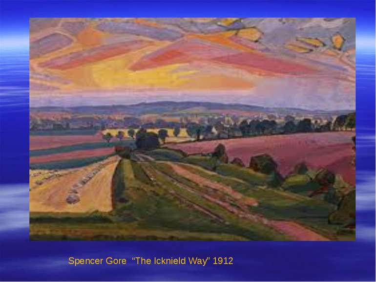 "Spencer Gore ""The Icknield Way"" 1912"