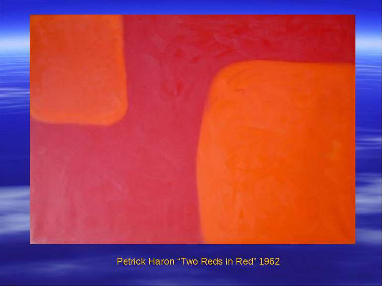 "Petrick Haron ""Two Reds in Red"" 1962"