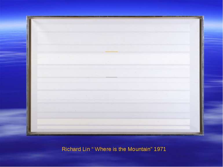 "Richard Lin "" Where is the Mountain"" 1971"