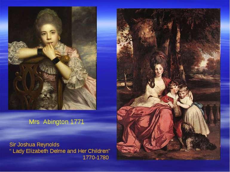 """Sir Joshua Reynolds """" Lady Elizabeth Delme and Her Children"""" 1770-1780 Mrs Ab..."""