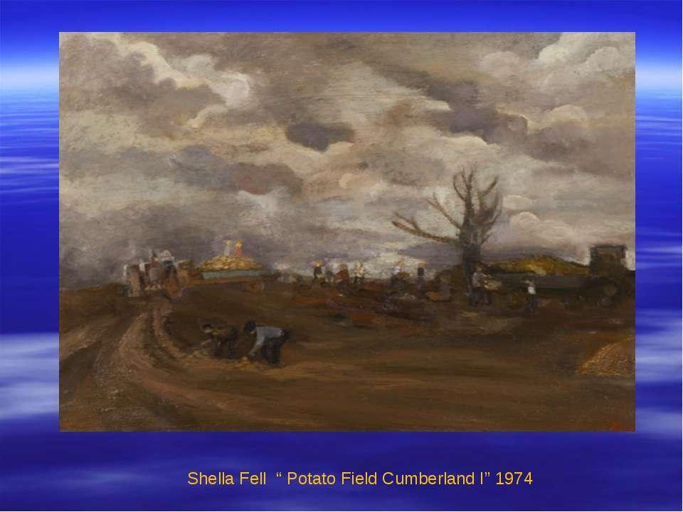 "Shella Fell "" Potato Field Cumberland I"" 1974"