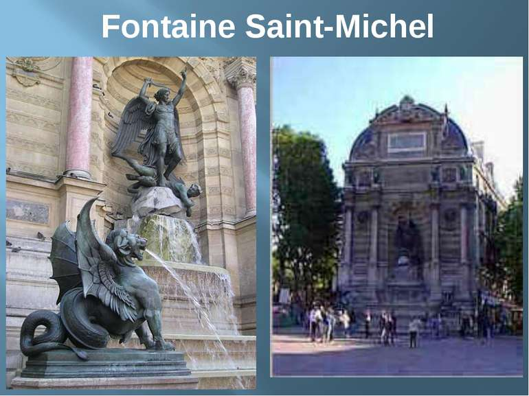 Fontaine Saint-Michel