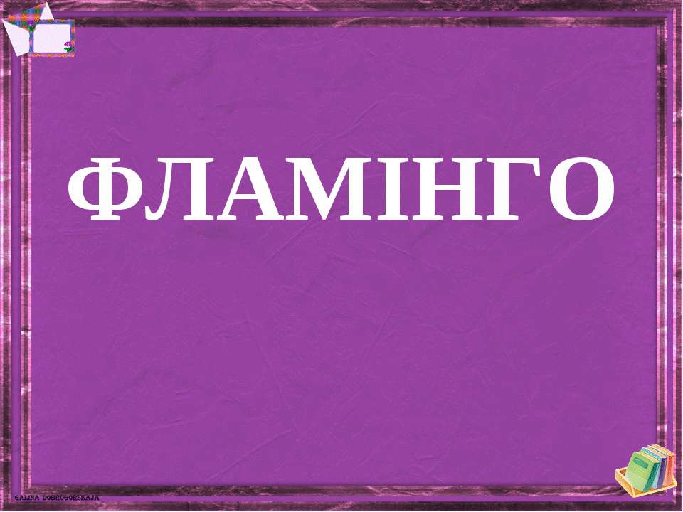 ФЛАМІНГО