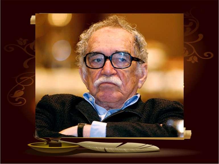 МАРКЕС Габріель ҐАРСІЯ (1928) – колумбійський письменник і журналіст. Народив...