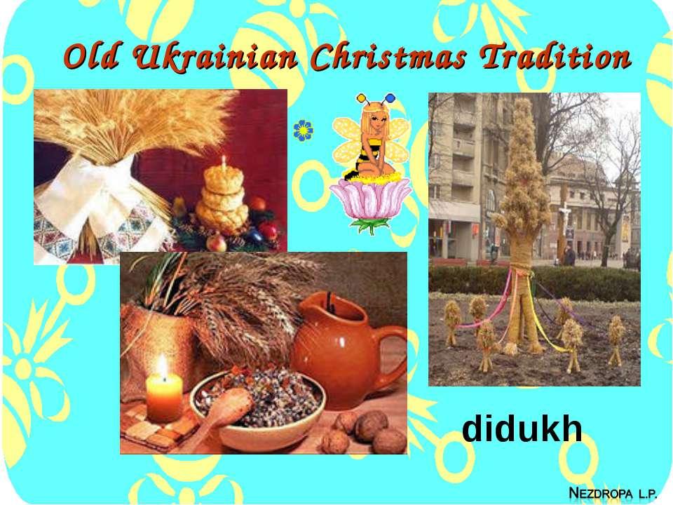 Old Ukrainian Christmas Tradition didukh