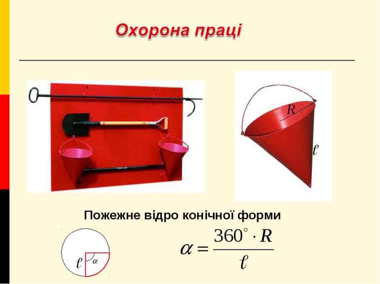 Пожежне відро конічної форми