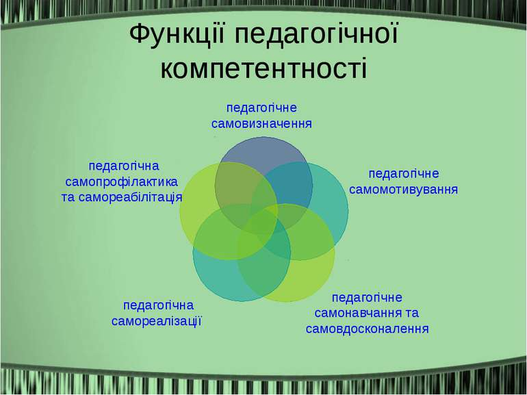 Функції педагогічної компетентності