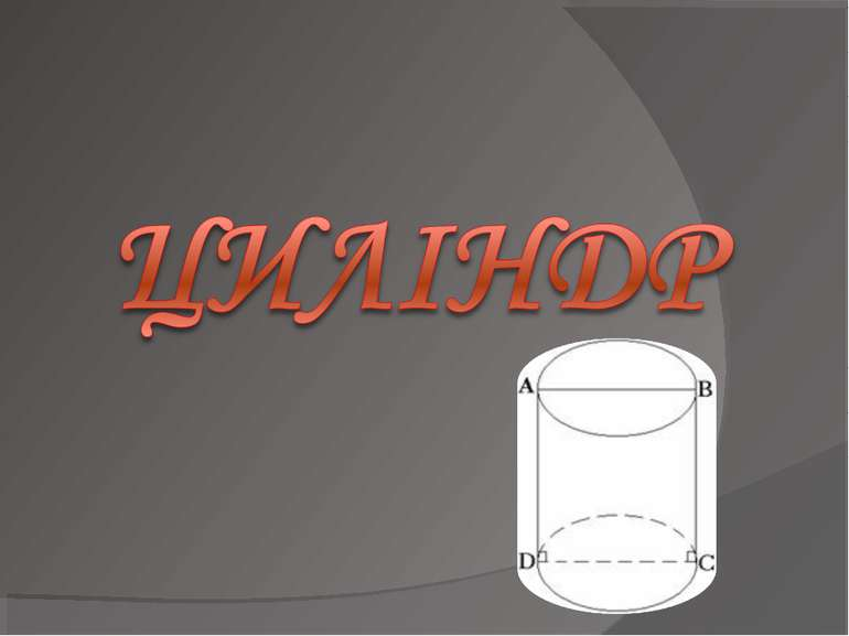 циліндр