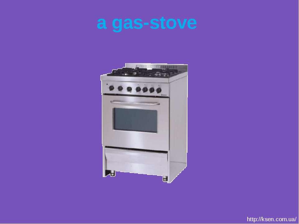 a gas-stove